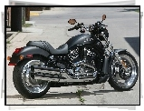 Wydechy, Harley Davidson Night Rod, Chromowane