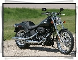 Harley Davidson Softail Night Train, Czarny, Mat