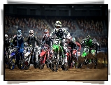 Monster Energy Supercross 4, Motocykle, Gra, Wyścig