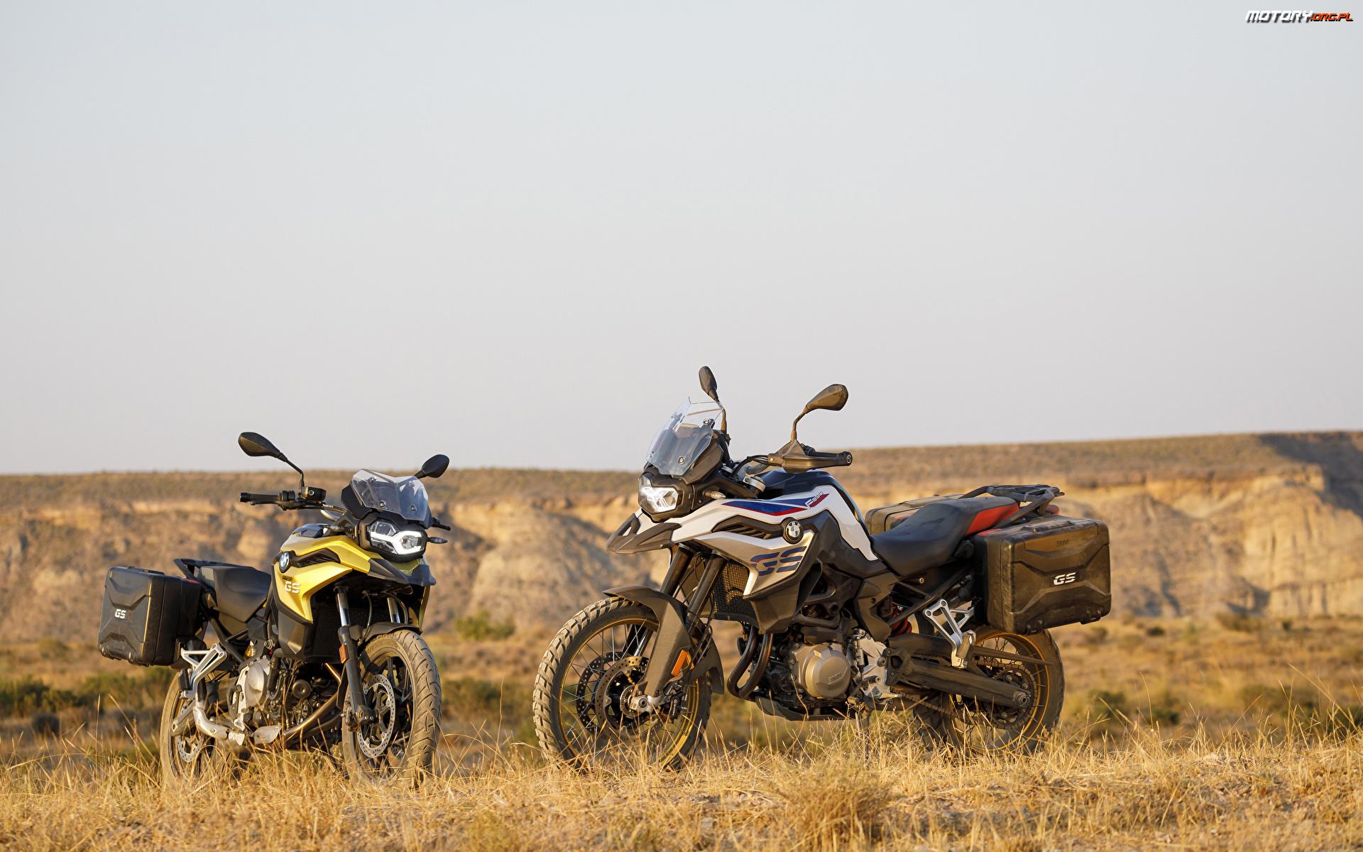 2018, BMW F850GS, Motocykle, Dwa, BMW F750GS